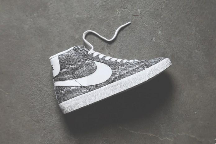 Nike Blazer Mid Premium TXT QS Black/White