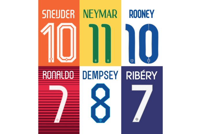 Nike Designers Discuss Striking World Cup Fonts