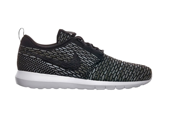 Nike Flyknit Roshe Run NM Black/Grey