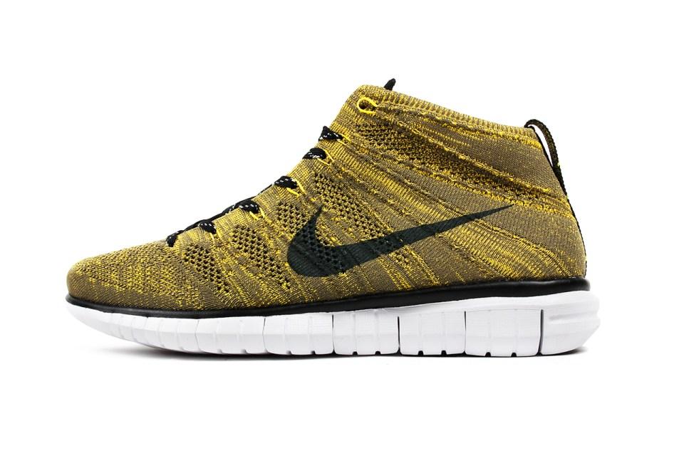 Nike Flyknit Chukka Tour Yellow