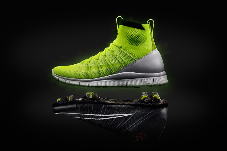 "Nike Free Mercurial Superfly HTM ""Volt"""