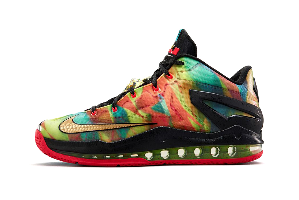 nike lebron 11 max low se multicolor