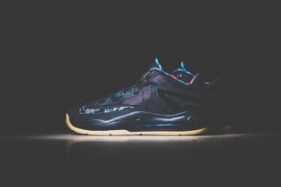 Nike LeBron 11 Max Low Black/Gum