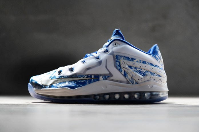 Nike LeBron 11 Max Low CH Pack Blue/White