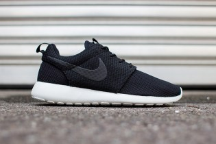Nike Roshe Run Black/Ash Grey