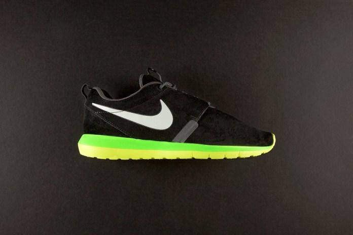 Nike Roshe Run NM Black/Volt