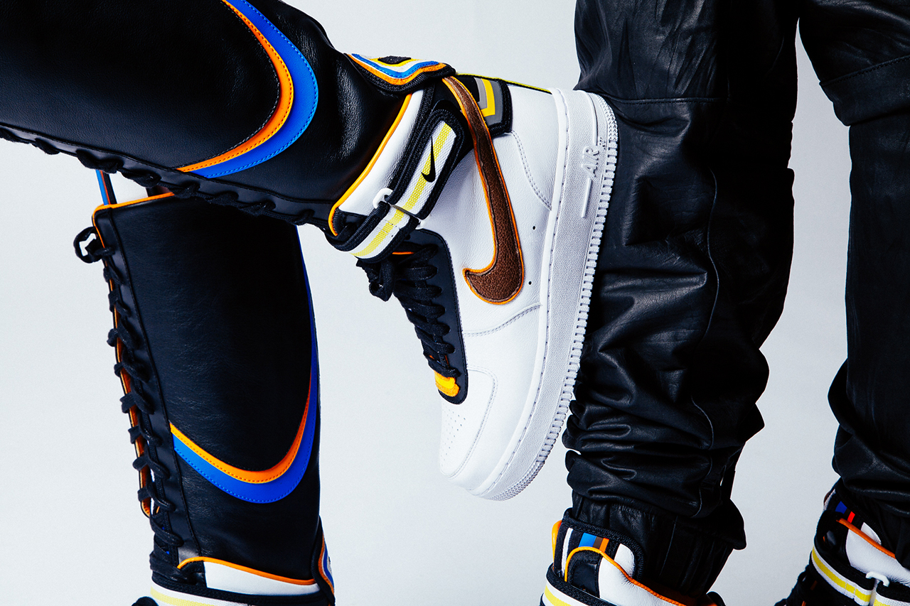 "Nike + R.T. Air Force 1 ""Laissez-aller"" Editorial"