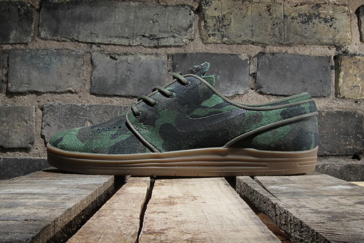 "Nike SB Lunar Stefan Janoski QS ""Camo"""