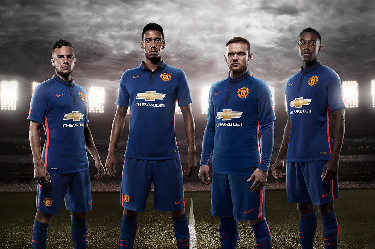 Nike Unveils Manchester United's 2014/15 Third Kit