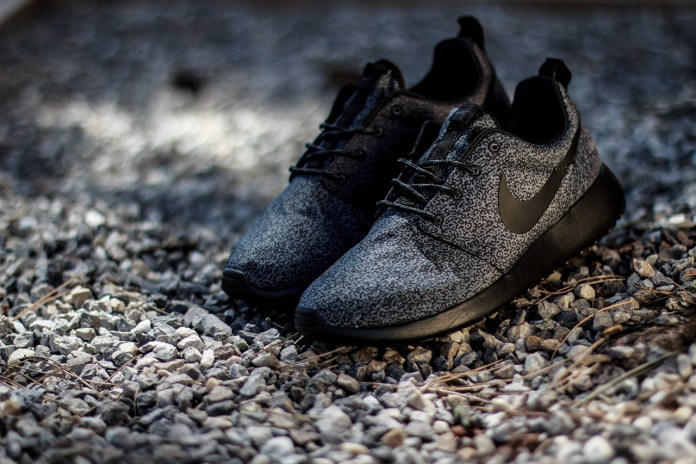 Nike WMNS Roshe Run Print Anthracite/Black