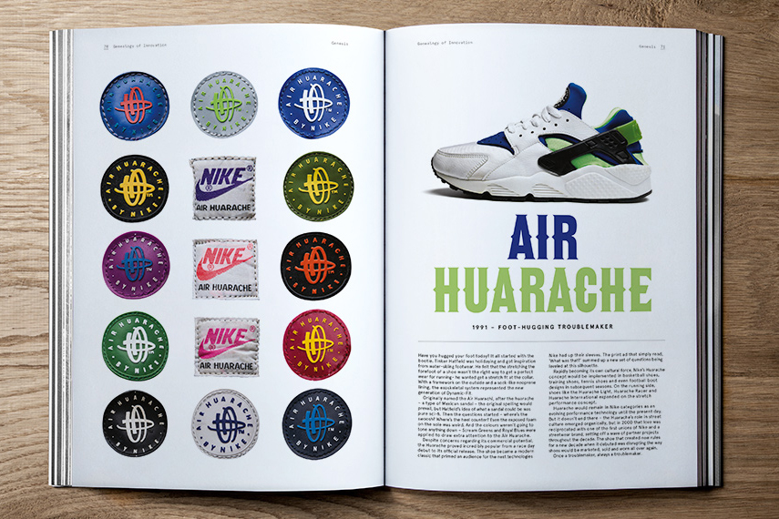 "Nike x Sneaker Freaker ""Genealogy of Innovation"" Book"