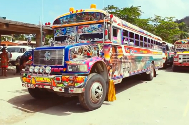 Diablo Rojo: Catching a Last Ride With Panama's Mobile Art Movement