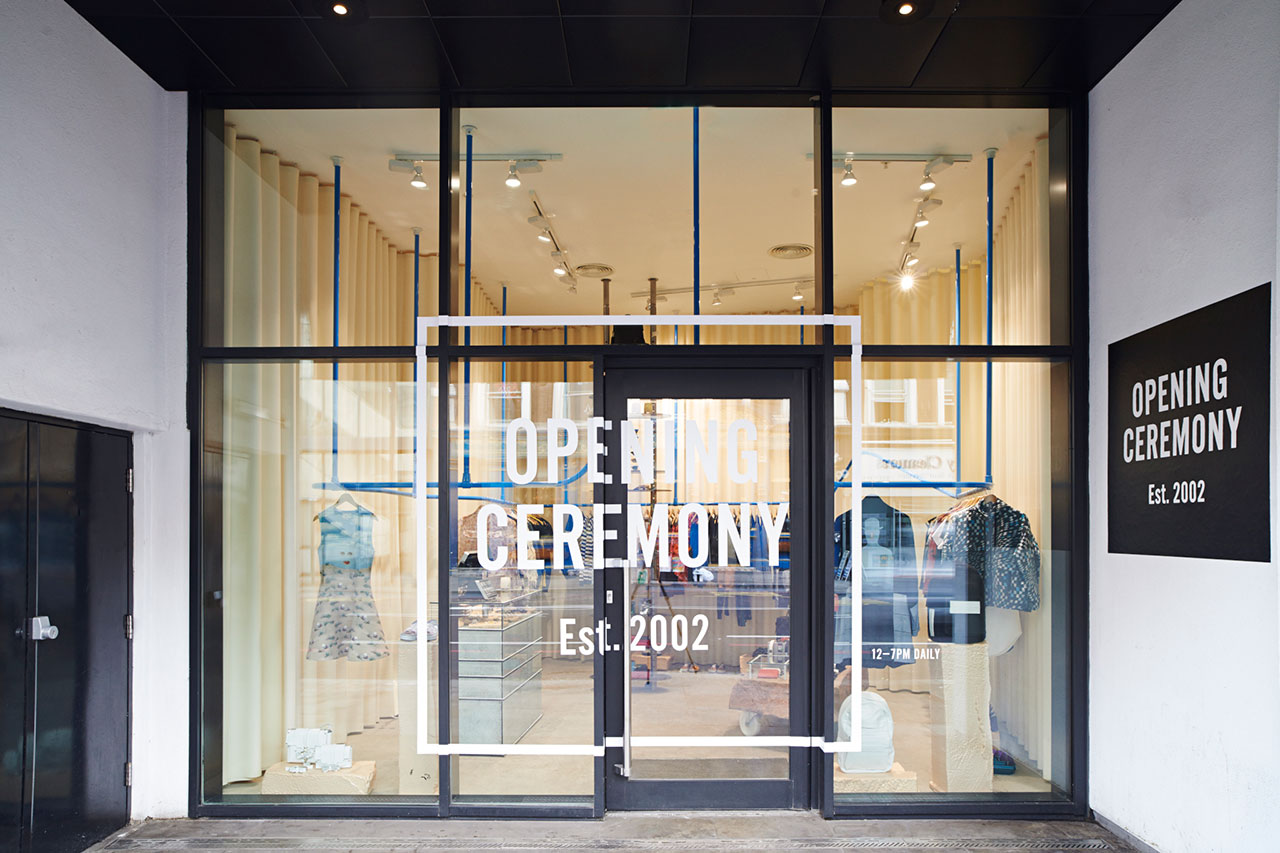 Opening ceremony shoreditch opens in ace hotel london for Household design shoreditch