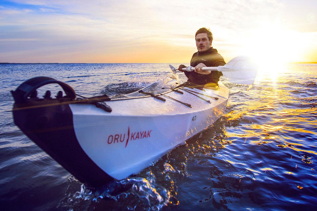 Origami-Inspired Foldable Oru Kayak