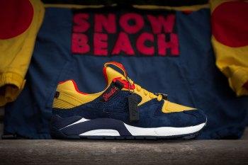 "Packer Shoes x Saucony Grid 9000 ""Snow Beach"""