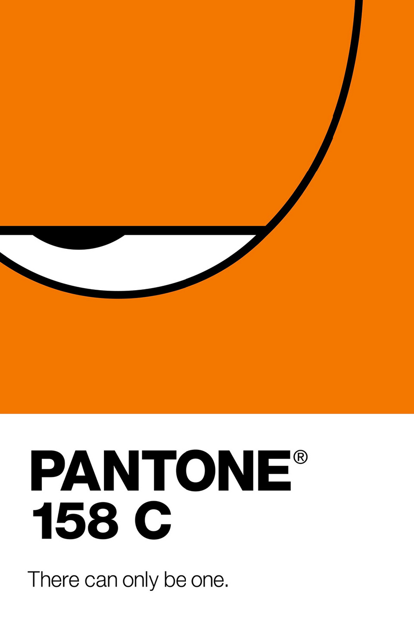 Pantone Renders Famous Cartoons as Colors in New Ads