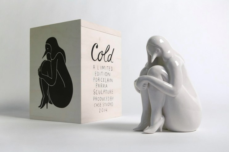 "Parra x Case Studyo ""Cold"" Sculpture"