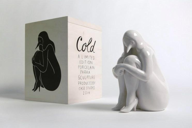 """Parra x Case Studyo """"Cold"""" Sculpture"""