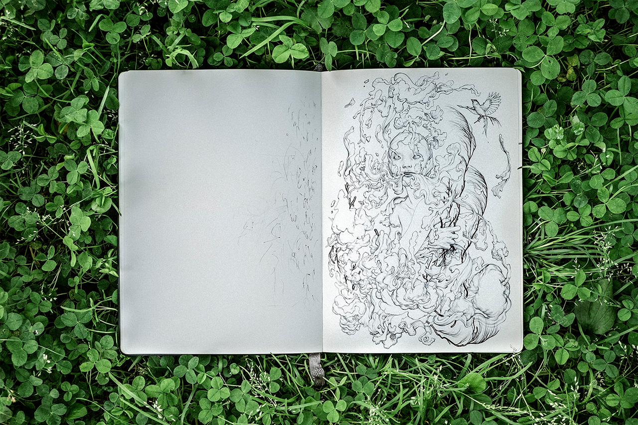 Pen & Paper: James Jean's Album Art Exploration