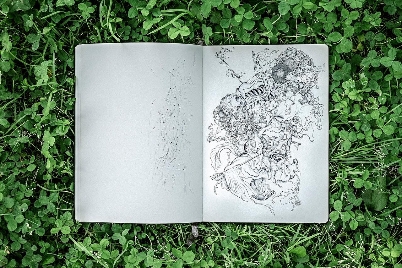 Pen & Paper: James Jean's Album Art Exploration