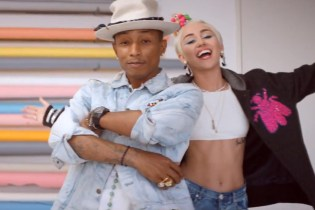 "Pharrell ""Come Get It Bae"" Music Video (featuring Miley Cyrus)"