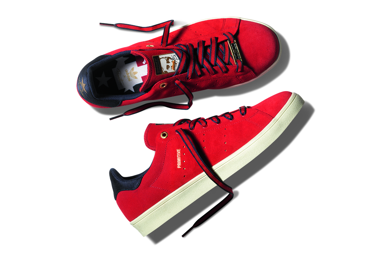 Primitive x adidas Skateboarding A League Stan Smith Vulc