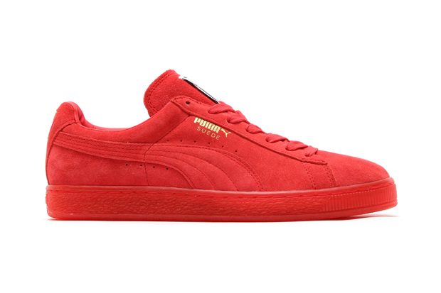 """PUMA Suede Classic+ Ice """"Red Scarlet"""""""