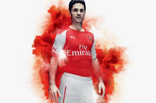 PUMA Unveils Arsenal's New 2014/15 Kits