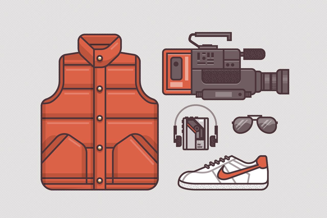 Ryan Putnam's Illustrations of Famous Movie Costumes