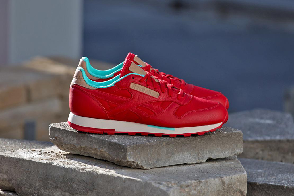 reebok classic leather utility red canvas