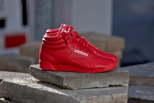 "Reebok Freestyle Hi SPIRIT ""Excellent Red"""