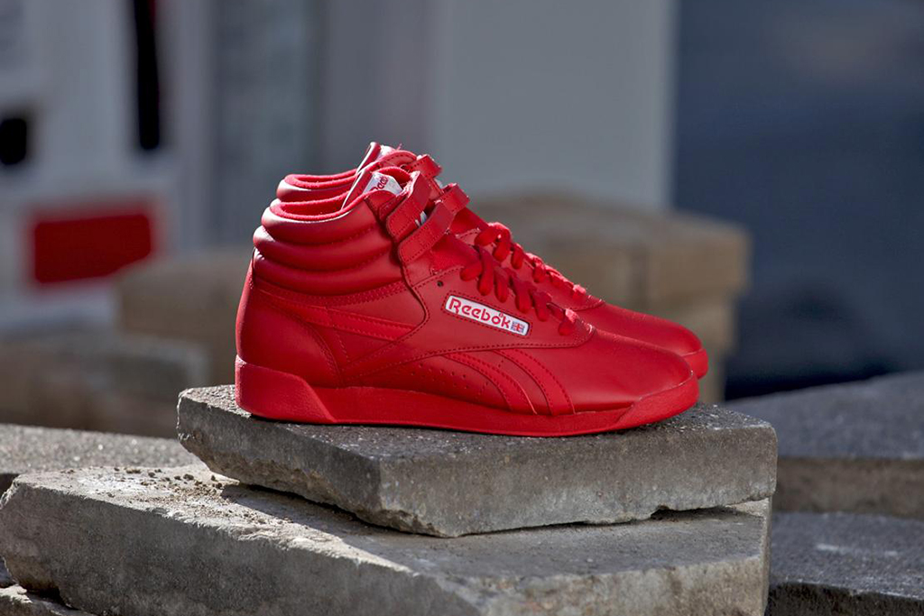 reebok freestyle hi spirit excellent red