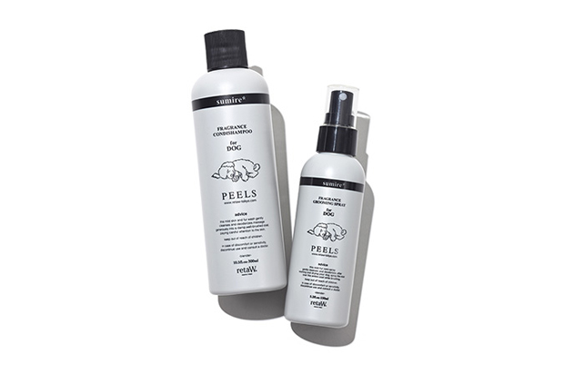 retaw peels shampoo and fragrance spray for dogs