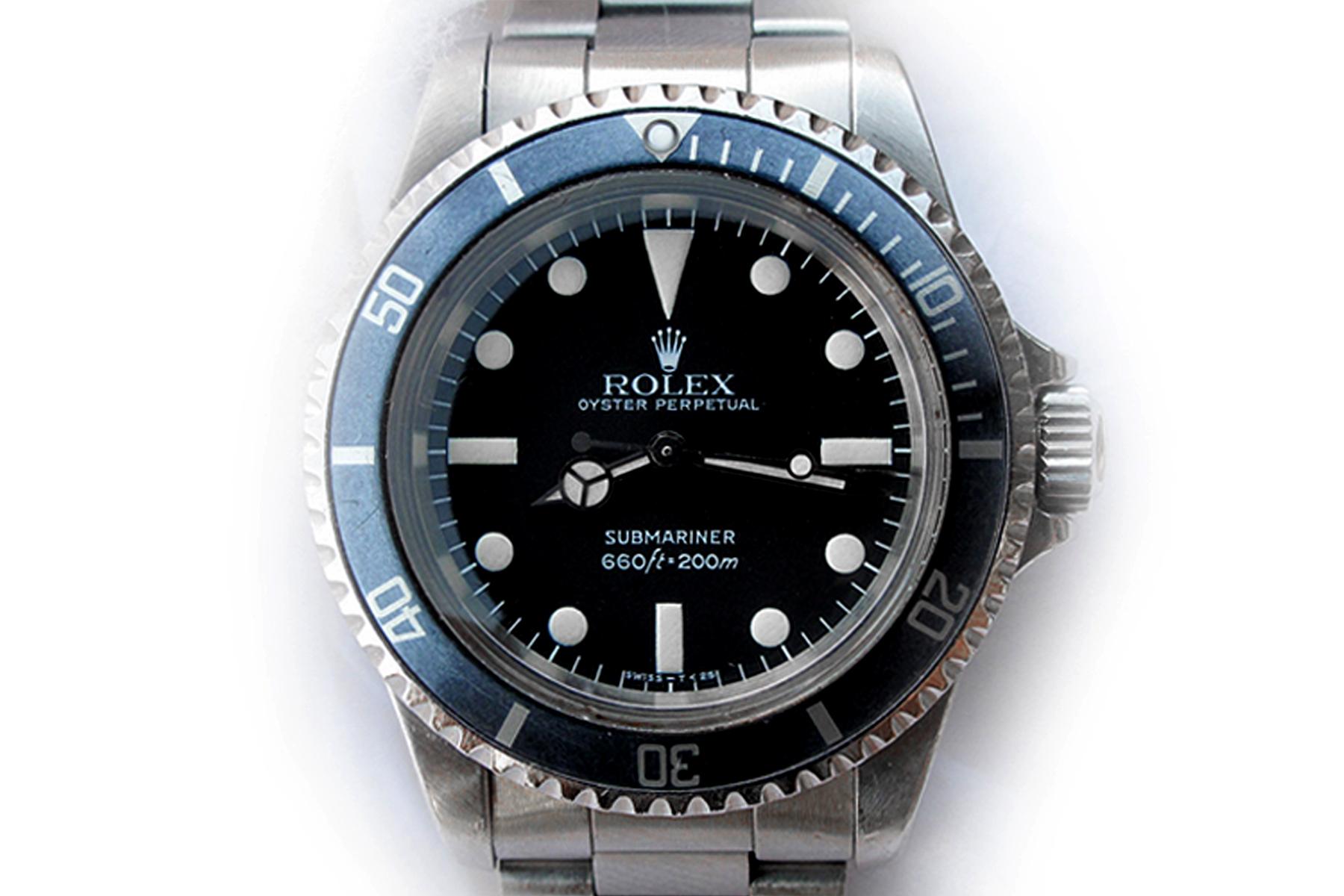 retrospect rolex 5513 matte dial submariner