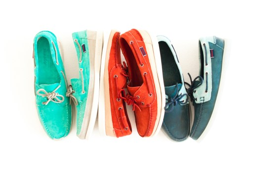Ronnie Fieg for Sebago 2014 Summer Collection