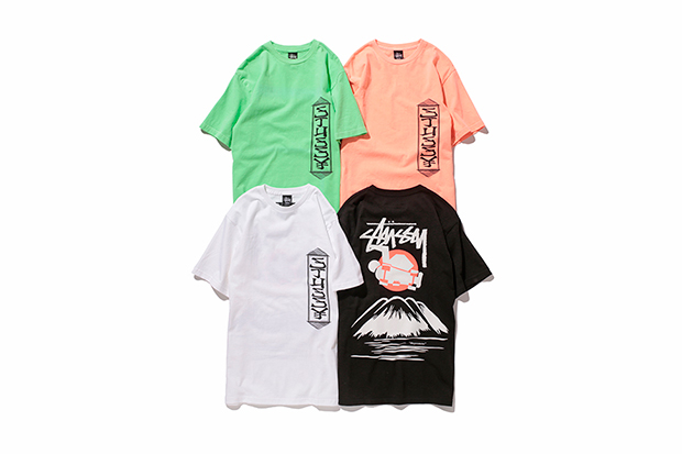 sasquatchfabrix x stussy t shirt collection