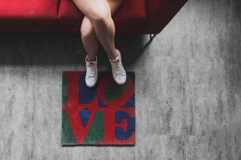 "SECOND LAB ""Love"" Rugs"