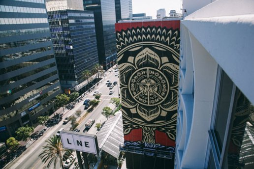 Shepard Fairey For The Line Hotel LA