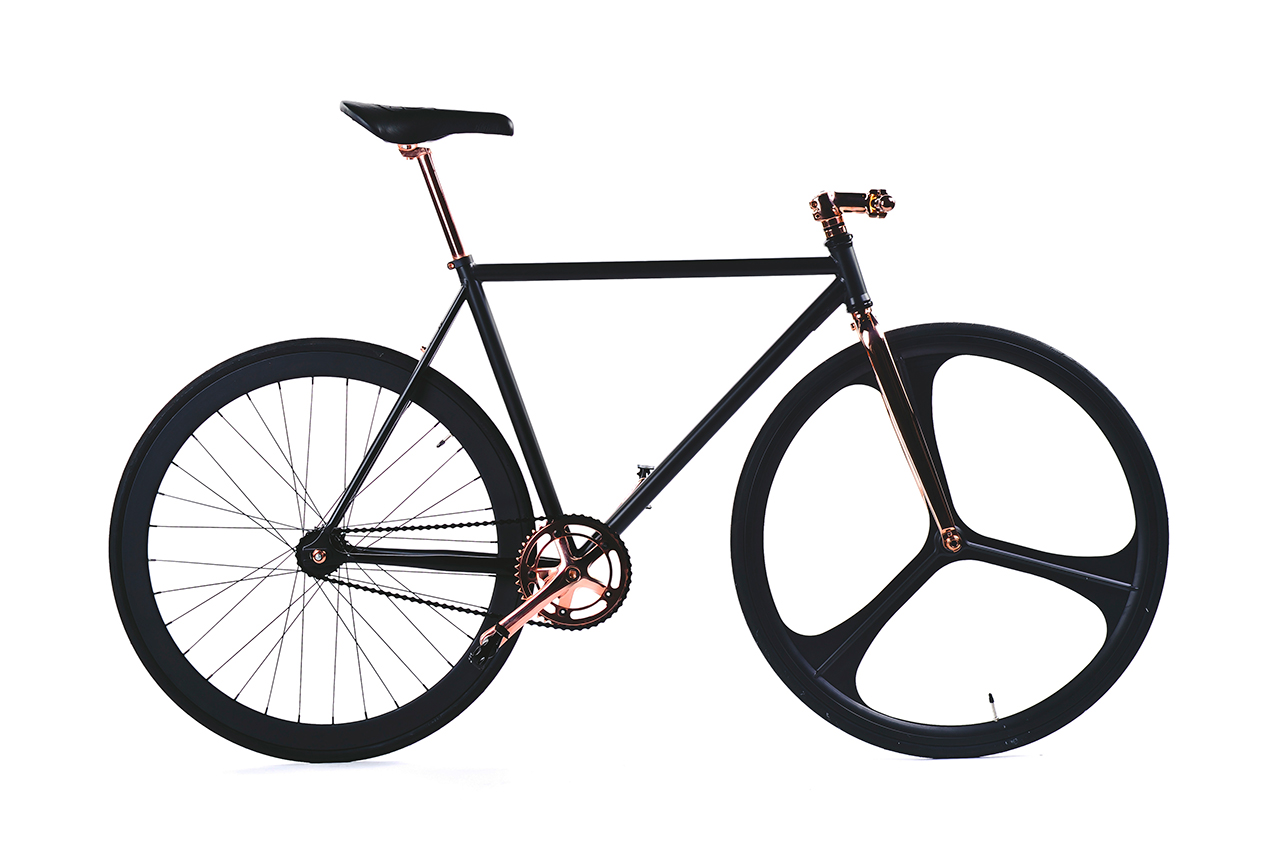 SikSilk Limited-Edition Aluminum Fixed Gear Bike
