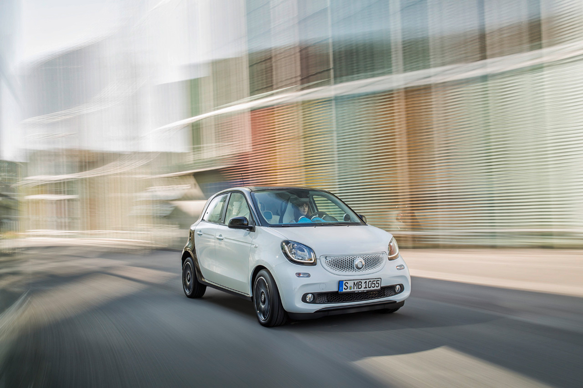 smart unveils the new fortwo and forfour