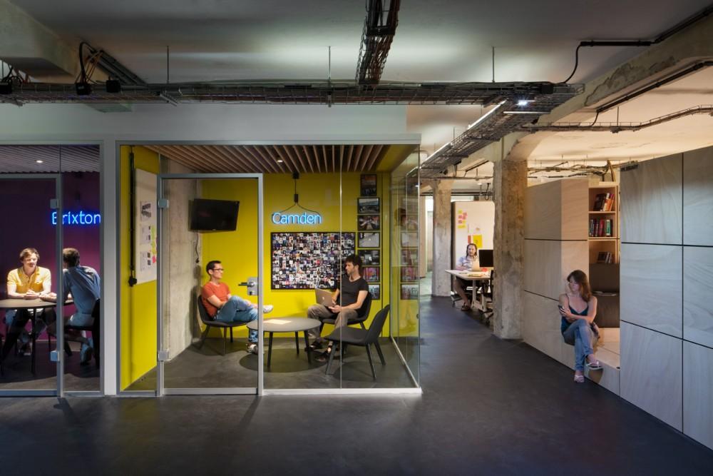 SoundCloud Headquarters by KINZO Berlin