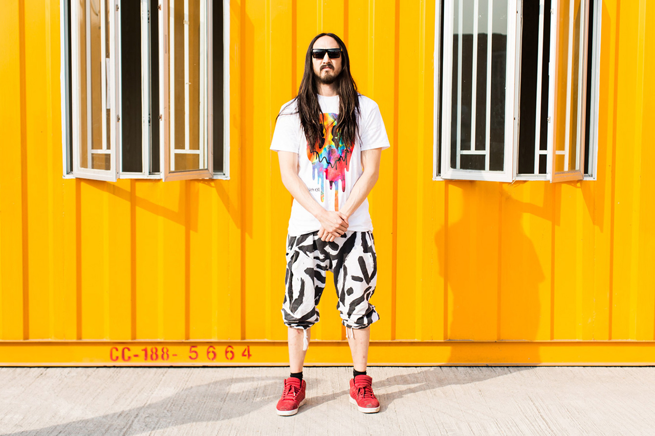 steve aoki man on the move