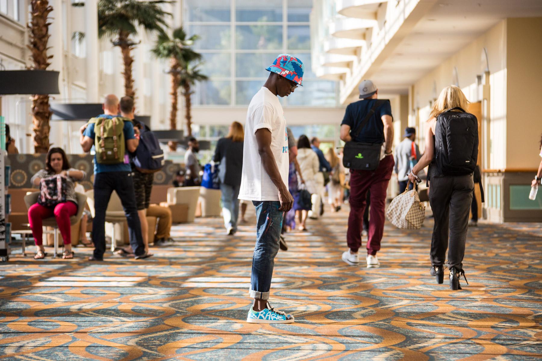 Streetsnaps: Slvstr of Rare Panther at Agenda Long Beach