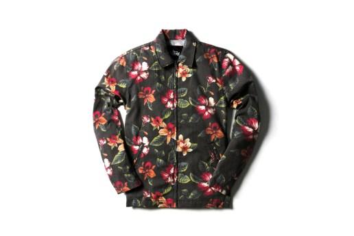 Stussy 2014 Spring/Summer Vintage Flower Coach Jackets