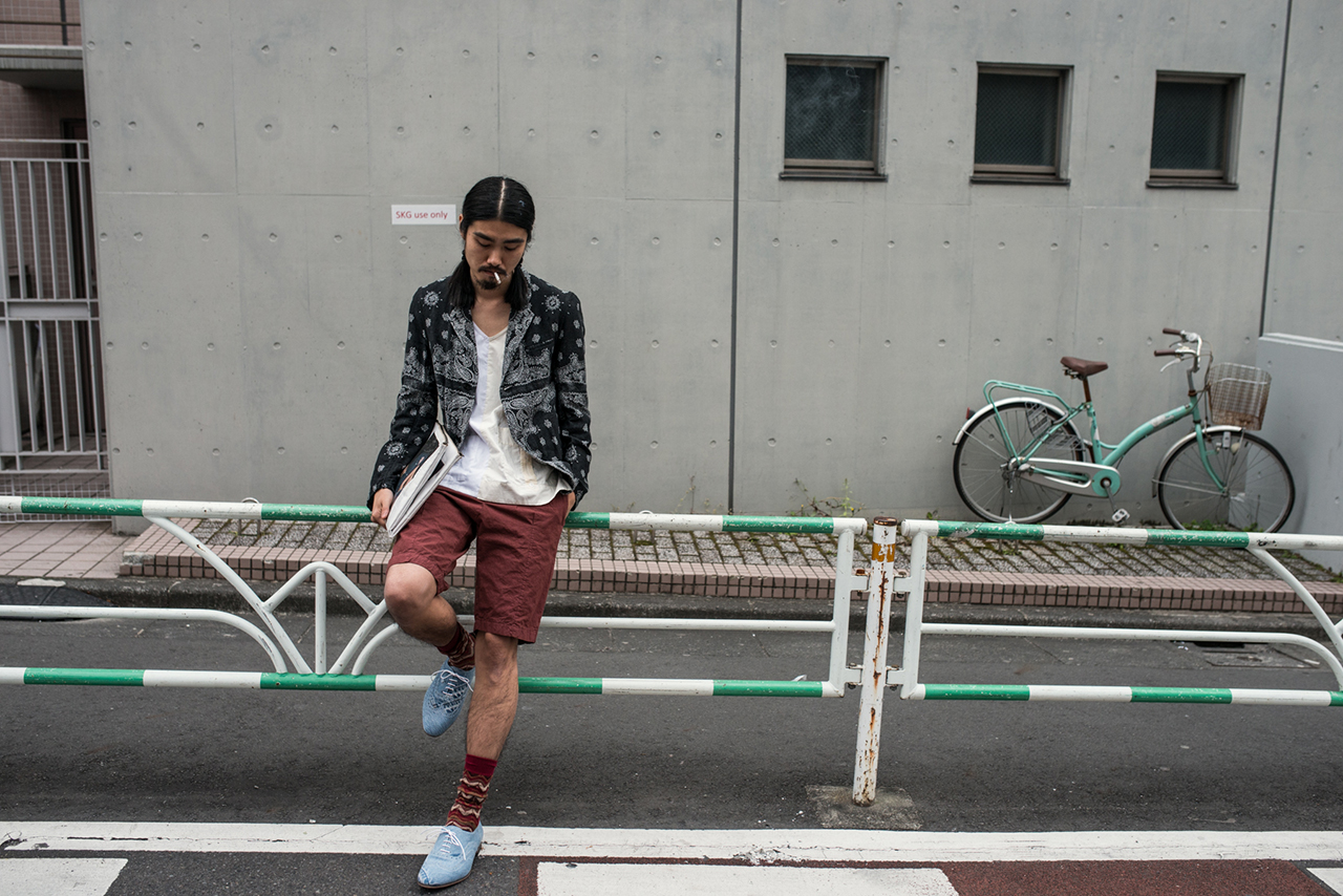TALKING ABOUT THE ABSTRACTION 2014 Spring/Summer Editorial by Shun Okada