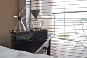 The Barisieur Alarm Clock and Coffee Brewer