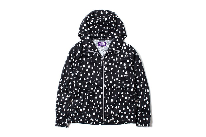 "THE NORTH FACE PURPLE LABEL 2014 Summer ""Dalmatian Print"" Collection"