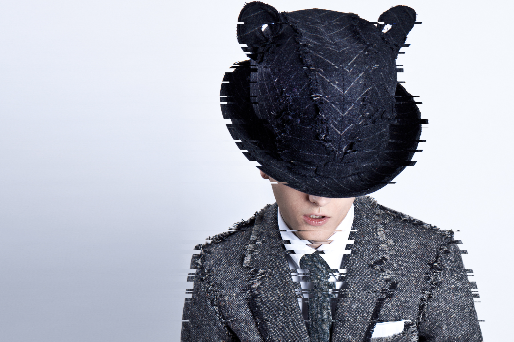 thom browne stephen jones 2014 spring summer dystopian editorial