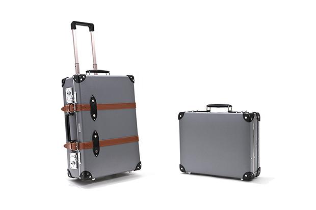 todd snyder x globe trotter carry on collection