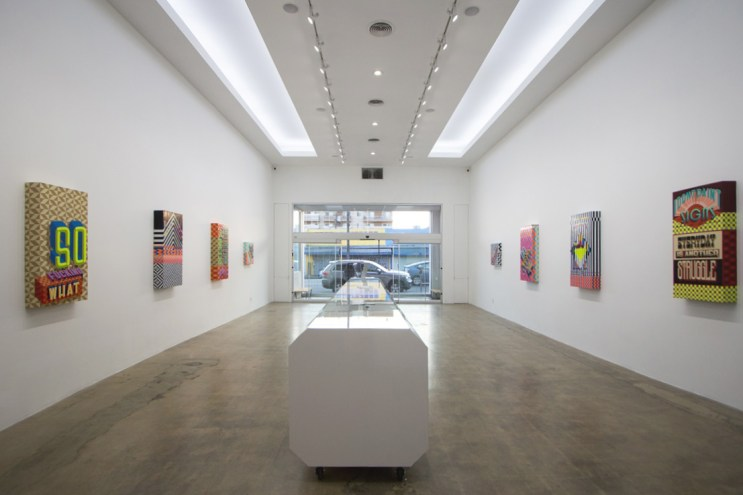 """Trav """"END OF THE BEGINNING"""" Exhibition @ The Seventh Letter Recap"""